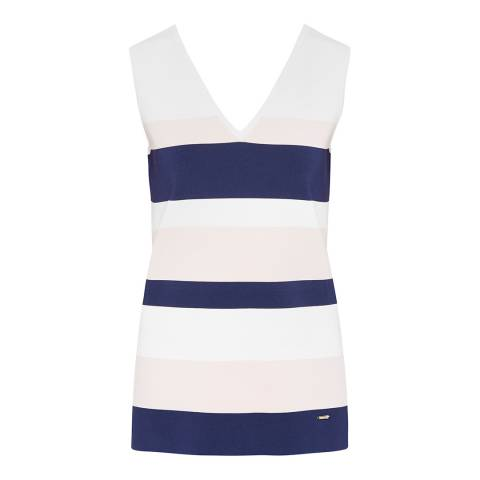 Ted Baker Ivory Nenti Knitted Vest