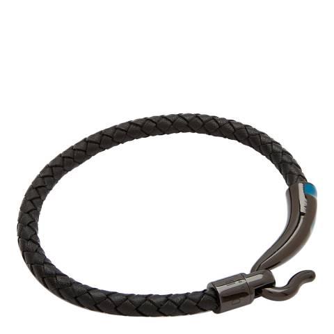 Ted Baker Black T Detail Hook Bracelet