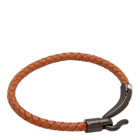 Ted Baker Tan T Detail Hook Bracelet
