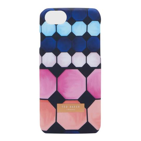 Ted Baker Navy Josefin Marina Mosaic IPhone Case