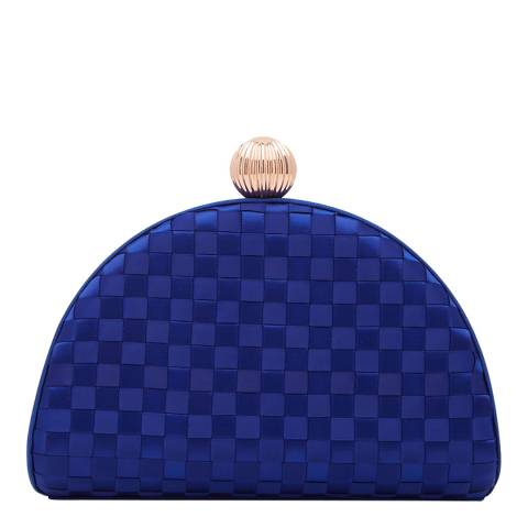 Ted Baker Mid Blue Kyla Woven Clutch Bag