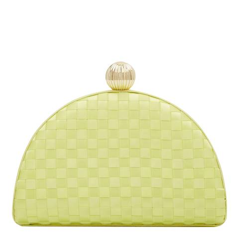 Ted Baker Mid Green Kyla Woven Clutch Bag