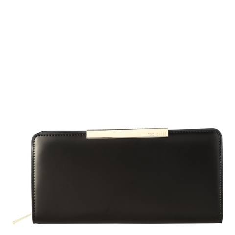 Ted Baker Black Rosaria Leather Bar Matinee
