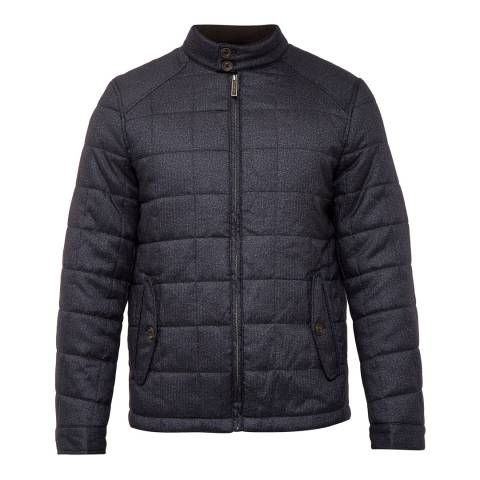 Ted Baker Grey Rocket Square Quilted Jacket