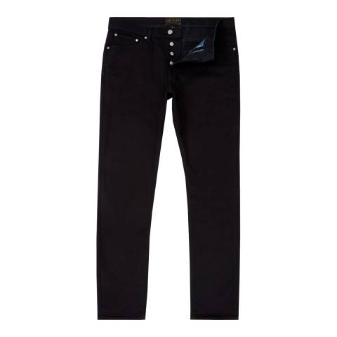 Ted Baker Midnight Tappy Tapered Cotton Stretch Jeans