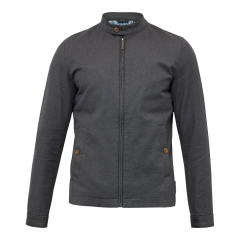 Ted Baker Charcoal Lynch Light Weight Short Jacket