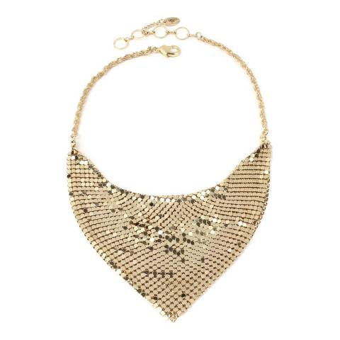Amrita Singh Gold Chainmail Necklace