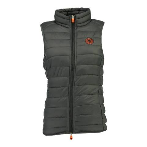 Geographical Norway Women's Dark Grey Vaynight Gilet