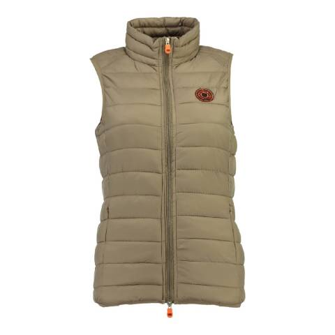 Geographical Norway Women's Taupe Vaynight Gilet