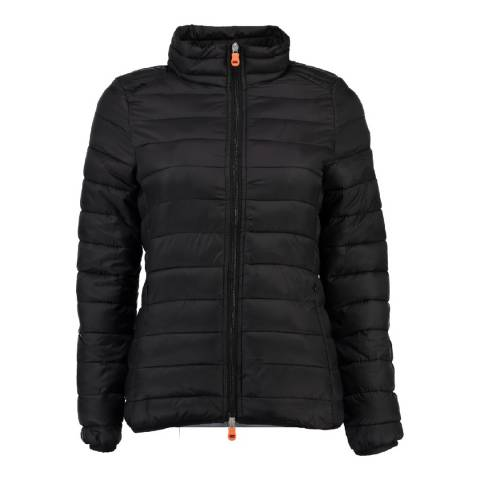 Geographical Norway Women's Black Daynight Basic Collar Jacket