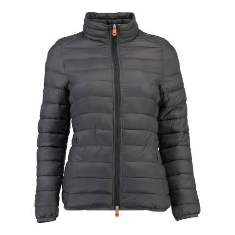Geographical Norway Women's Dark Grey Daynight Basic Collar Jacket