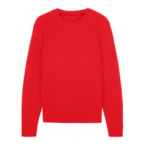 Jaeger Red/Navy Contrast Sweatshirt