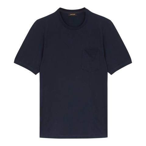 Jaeger Blue Cotton T Shirt