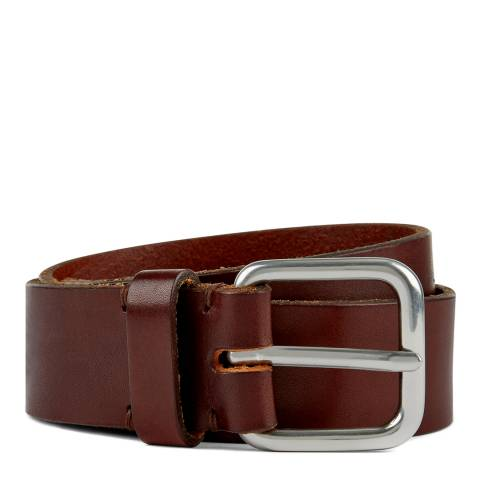 Jaeger Brown Leather Casual Belt