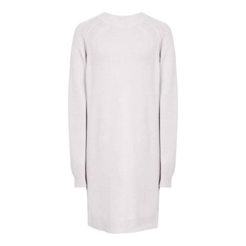 Reiss Heather Blanca Casual Knit Wool Blend Dress