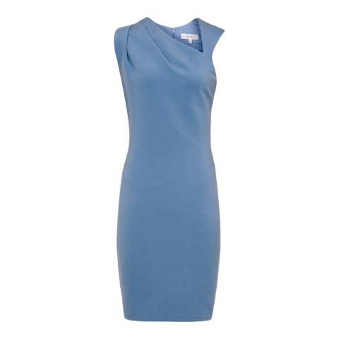 Reiss Sapphire Katerina V Neck Bodycon Dress