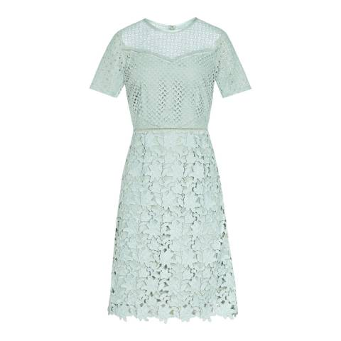 Reiss Sage Heather Lace Dress