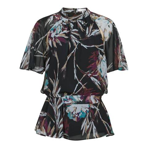 Reiss Multi Nella Printed Blouse