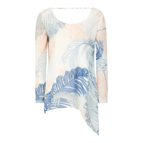Reiss Multi Silvi Printed Blouse