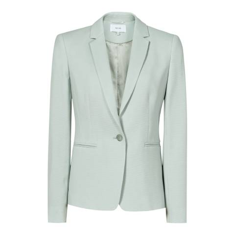 Reiss Mint Greece Textured Blazer