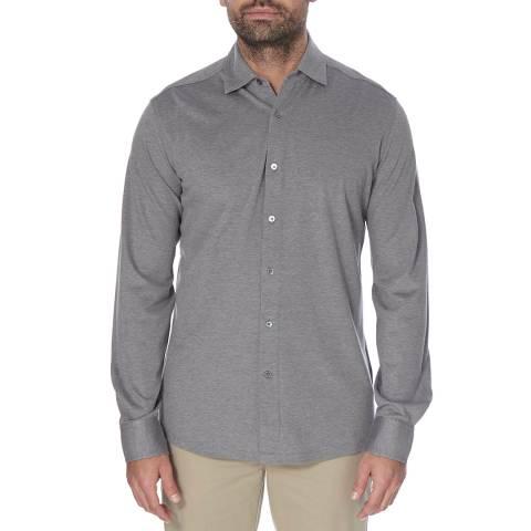 Hackett London Navy Mayfair Cotton Polo Shirt