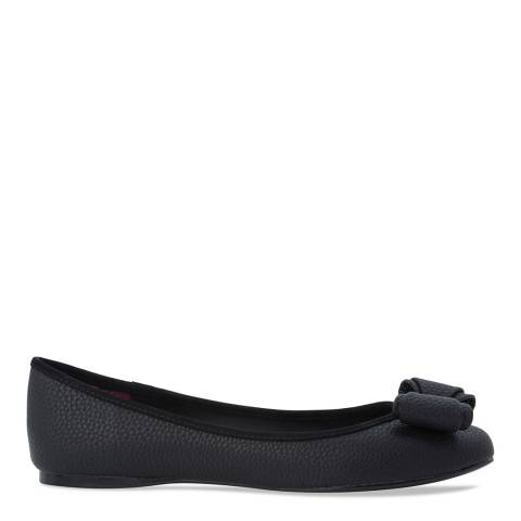 Ted Baker Black Bow Front Immet Flats