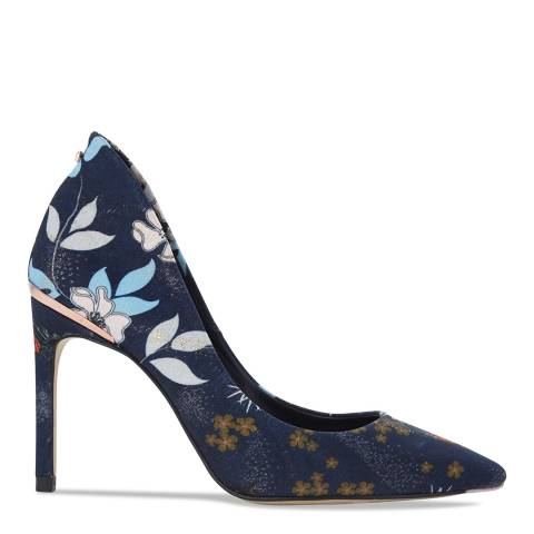 Ted Baker Blue Kyoto Gardens Print Saviop Courts