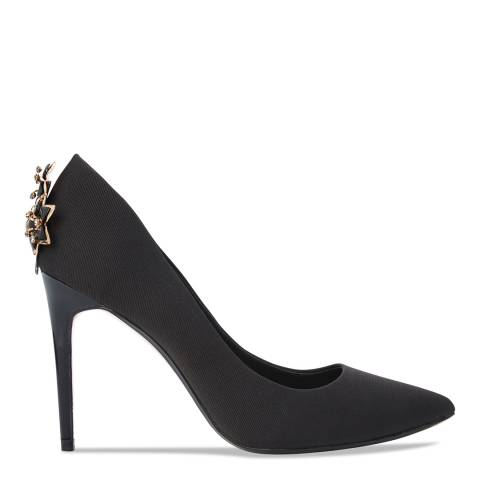 Ted Baker Black Brooch Detail Zephari Stilettos