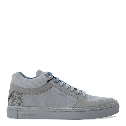 Ted Baker Grey Suede Kommet Sneakers