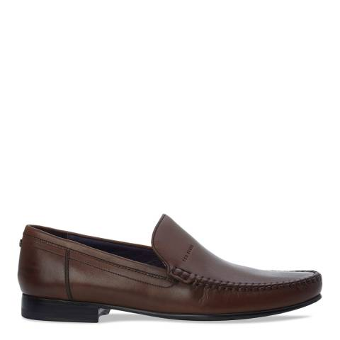 Ted Baker Brown Leather Simeen 3 Loafers