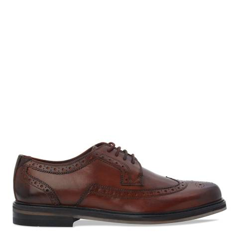 Ted Baker Tan Brown Lace Up Ttanum 3 Brogues