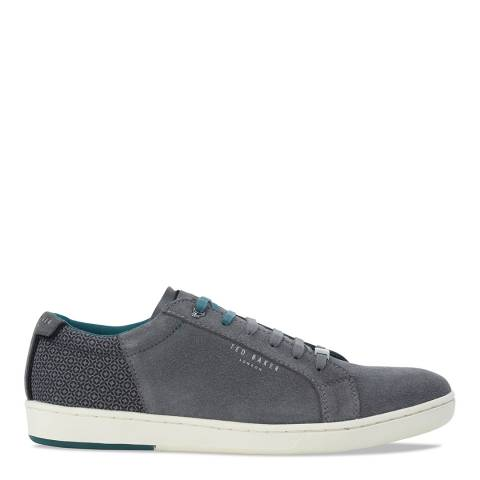 Ted Baker Grey Suede Xiloto Sneakers