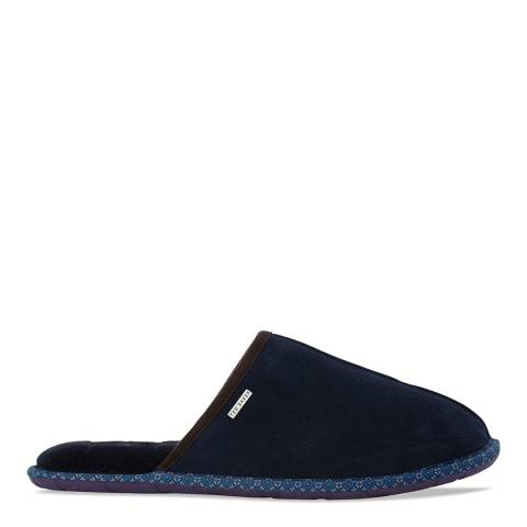 Ted Baker Navy Suede Youngi 2 Slippers