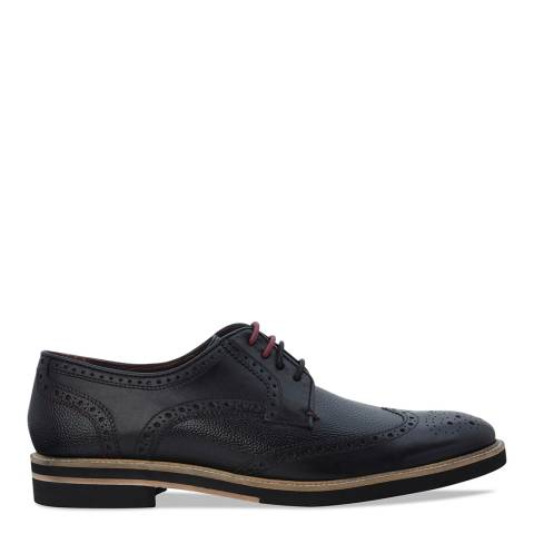 Ted Baker Black Leather Archerr 2Lace Up Brogues