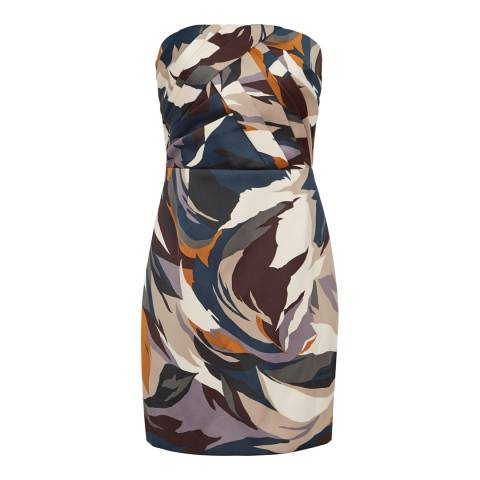Reiss Multi Juna Cocktail Mini Dress