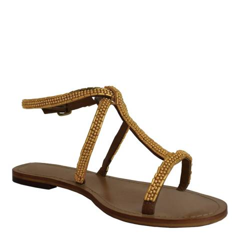 Aspiga Gold Ana Indian Sandal