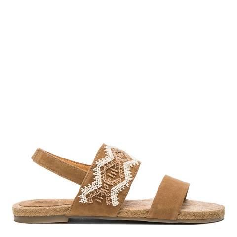 Aspiga Beige Lucy Indian Sandal