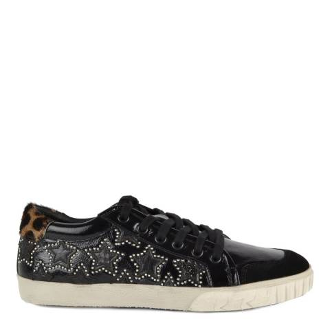 ASH Black Patent Leather Majestic Bis Trainers