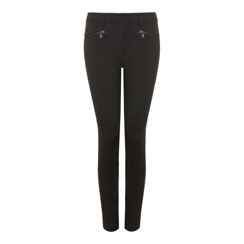 NYDJ Black Zip Skinny Stretch Jeggings