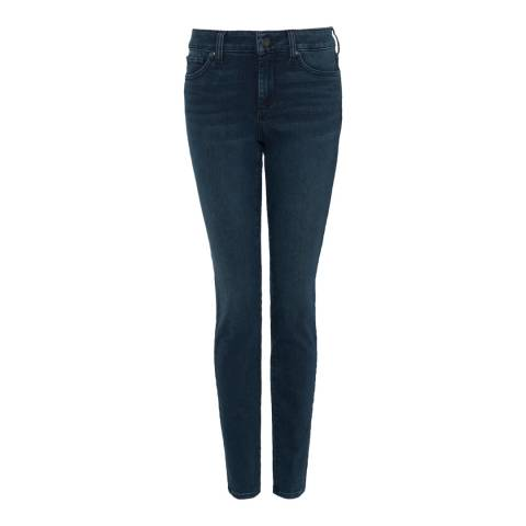 NYDJ Deep Indigo Ami Skinny Cotton Stretch Jeggings