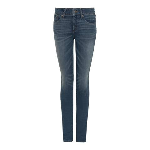 NYDJ Blue Wash Alina Skinny Cotton Stretch Jeggings