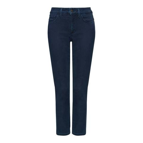 NYDJ Deep Indigo Angie Skinny Cotton Stretch Jeans