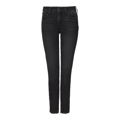 NYDJ Charcoal Ami Skinny Ankle Cotton Stretch Jeans