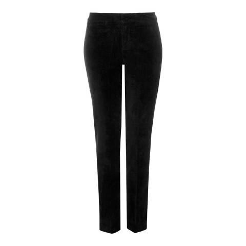 NYDJ Black Corynna Ankle Cotton Stretch Jeans