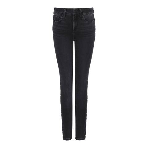 NYDJ Mid Grey Ami Skinny Cotton Stretch Jeggings