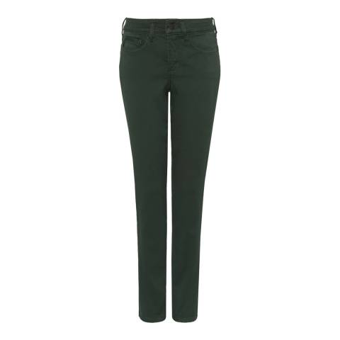 NYDJ Deep Green Ami Skinny Cotton Stretch Jegging