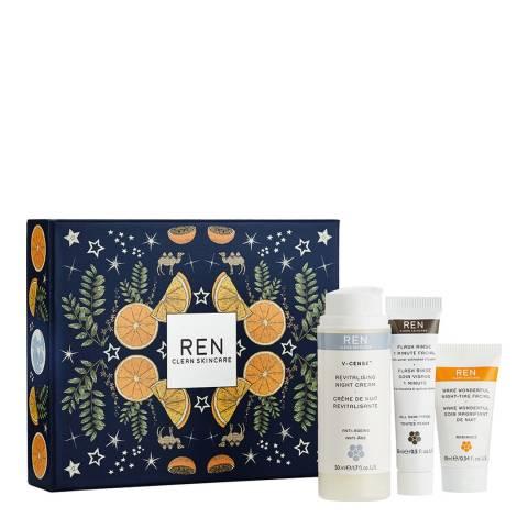 REN Ren Night Face Favourites Travel Kit