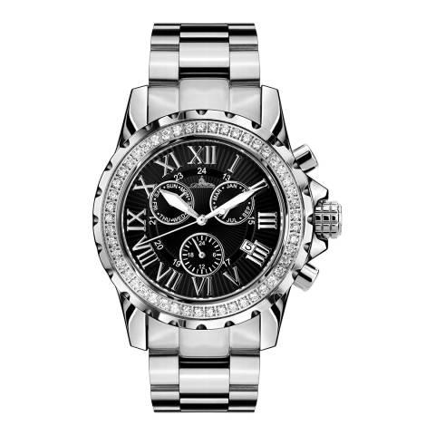 Richtenburg Women's Black Stainless Steel Romantica Stahl Schwarz Watch