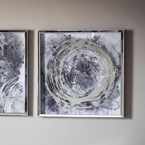 Gallery Cyclone II Framed Art 70x70cm