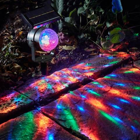Smart Solar Black Carnival! Single Spotlight
